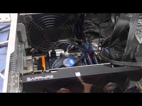 Dogecoin Miner RADEON R9 280x Power consumption