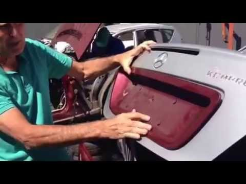 How to open Mercedes trunk without Key