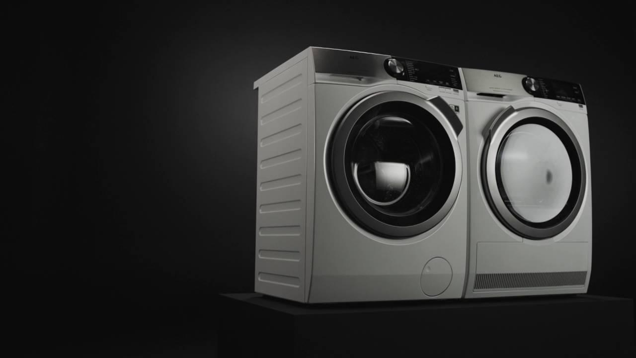 Video představující novou řadu praček a sušiček AEG