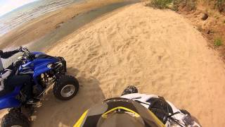 6. Yamaha raptor 250 and 350