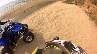 8. Yamaha raptor 250 and 350