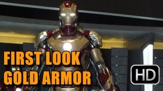 'Iron Man 3' First Look at New Armor (2013)