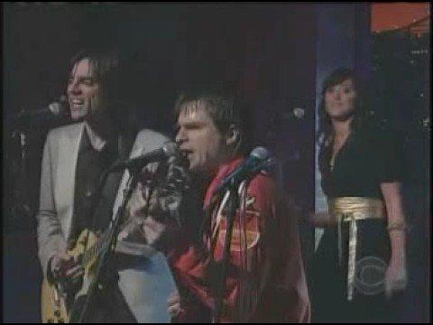 Weezer Beverly Hills on Letterman