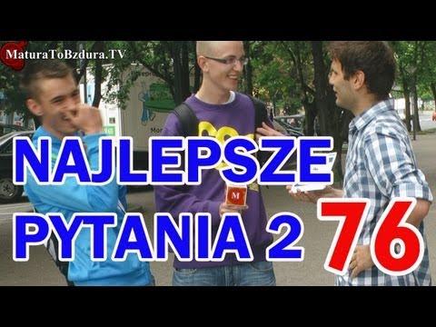 Matura To Bzdura - NAJLEPSZE PYTANIA (FINAŁ 2 SEZONU) - odc. 76