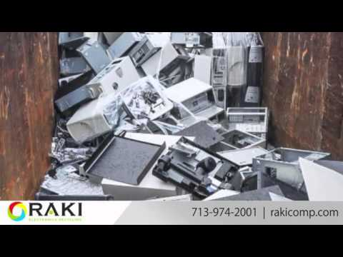 RAKI Computers Recycling | Certified E-Waste Disposal in Houston