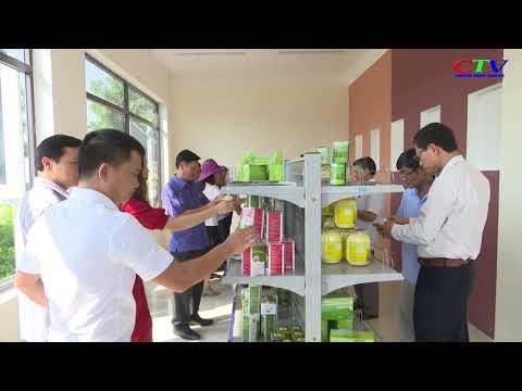 Khai trương quầy hàng nông sản đặc trưng huyện Cam Lộ