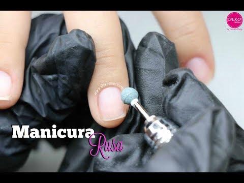 Videos de uñas - Clase #8 Manicura Rusa