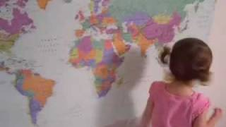 The Original Video of Lilly: The World Map Master