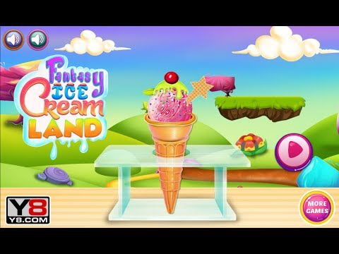 Fantasy Ice Cream Land Game (Making Your Own Ice Cream)