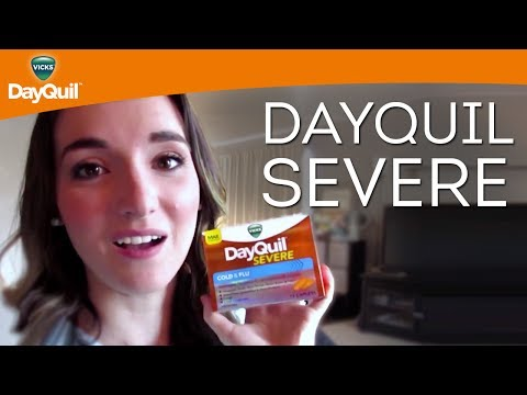 Vicks DayQuil Review: DayQuil SEVERE Cold & Flu Relief Caplets