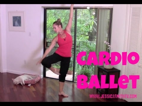 Barre – Free Full Length 30-Minute Cardio Ballet Workout (fat burning barre workout)