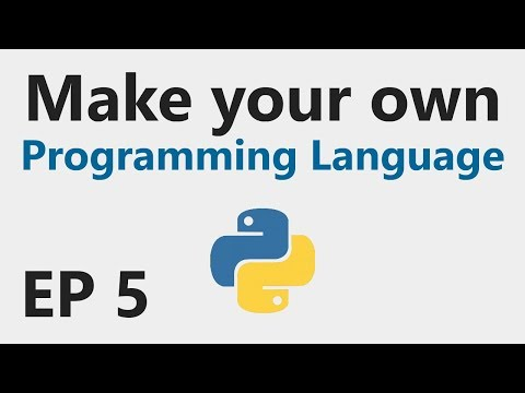 Make YOUR OWN Programming Language - EP 5 - Comparisons and logical operators