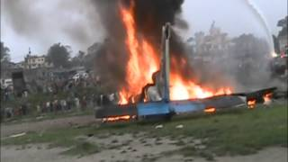 The horrific Sita Air airplane crash near Kathmandu