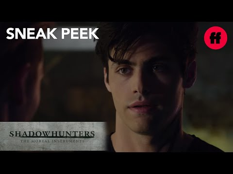 Shadowhunters | Season 1, Episode 5 Sneak Peek: Jace & Alec Talk About Clary | Freeform