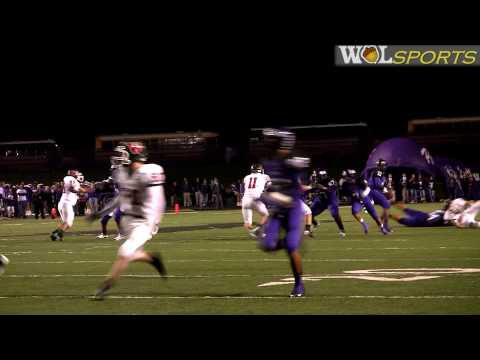 The Woodlands Highlanders vs. Lufkin Panthers Football Highlights, 2009