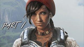 GEARS OF WAR 4 Walkthrough Gameplay Part 1 - Kait (GOW 4)