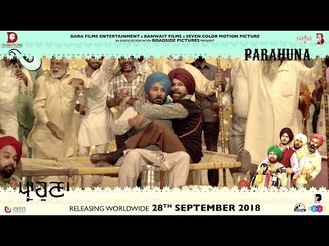 Parahuna - Making Of Harby Sangha | Punjabi Comedy Movie | 28th September