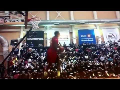 Andrew Wiggins Perfect 60 2013 McDonalds High School All American Powerade Jam Fest