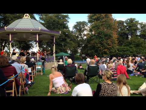 Opening of Windsor's new bandstand