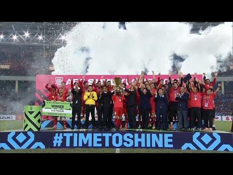 Nhìn lại năm 2018 thành công vang dội của bóng đá Việt Nam