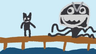 Bendy in nightmare run                     Bendy walks the plank