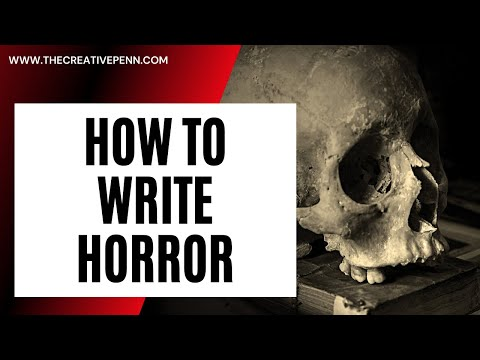 Writing In The Dark. Horror Writing Tips With Tim Waggoner