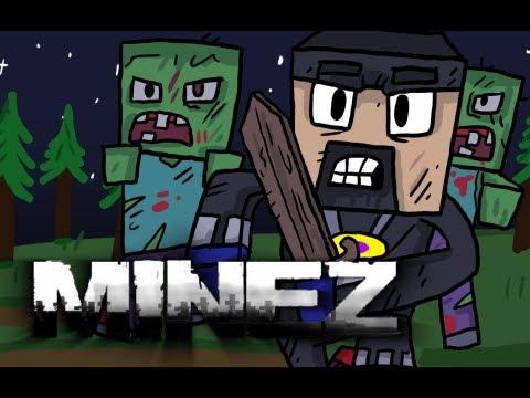 Minecraft: MineZ - Everything Dies! (Killer Zombie Survival)