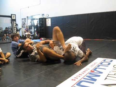 Fabricio Werdum shows how to Attack off your back in an MMA setting