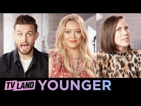 Rapid Fire Questions 🔥 w/ the Cast of Younger   TV Land