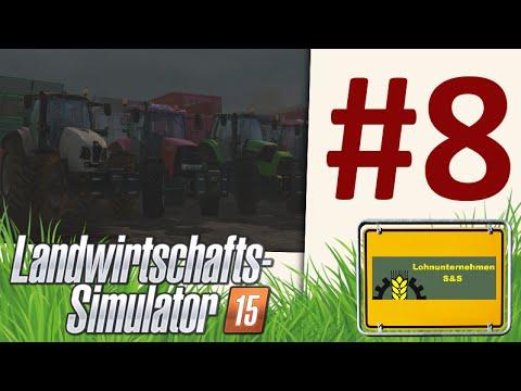 Landwirtschafts Simulator 15 [HD+] #008 – Mais Häckeln, LU S&S, 2 Krone BigX 1100★ Let's Play LS15 ★