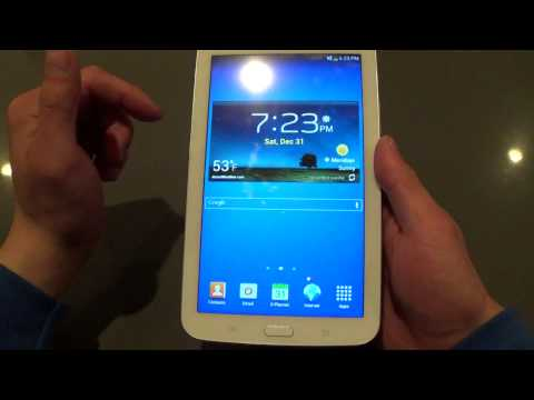 Samsung Galaxy Tab 3 8GB Review