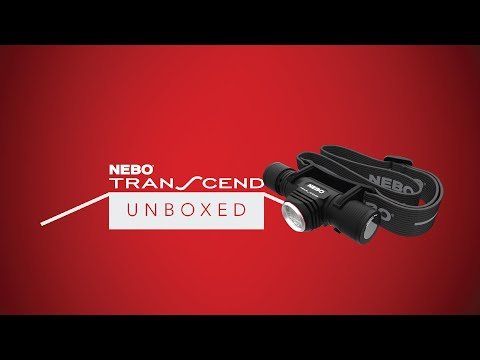 NEBO Unboxed: TRANSCEND - 1,000 Lumen