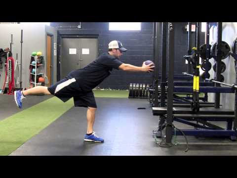 Baseball/Softball Strength Training: MB SL RDL.MOV