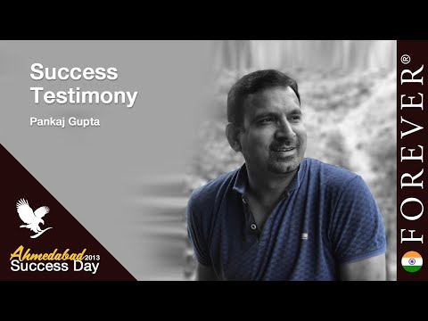 Business Testimony by Pankaj Gupta at Ahmedabad Success Day 13