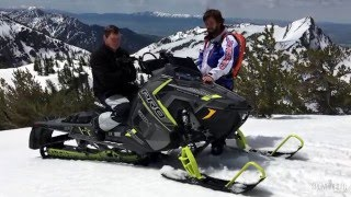 5. 2017 Polaris Pro-RMK 174 Snowmobile Review