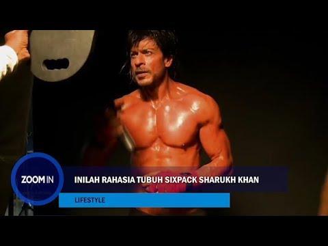 Inilah Rahasia Tubuh Sixpack ShahRukh Khan