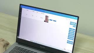 Face Recognition Access Control Temperature Camera youtube video