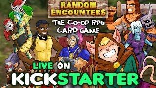 Random Encounters Kickstarter Campaign