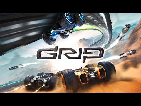 TỰA GAME ĐUA XE ẢO DIỆU NHẤT BẠN TỪNG XEM! \\ GRIP Racing - Thời lượng: 18 phút.