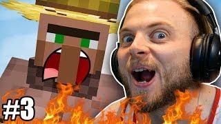 I STOLE A FARMER in Hardcore Minecraft! #3 by iBallisticSquid