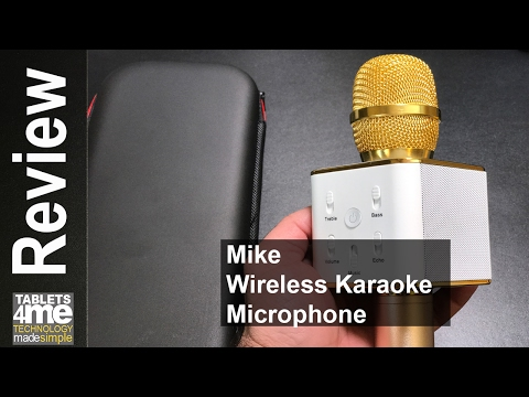 Do You Love Karaoke? Here Is An Affordable Portable Karaoke Mic Review