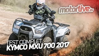 3. KYMCO MXU 700i 2017 | TEST COMPLET
