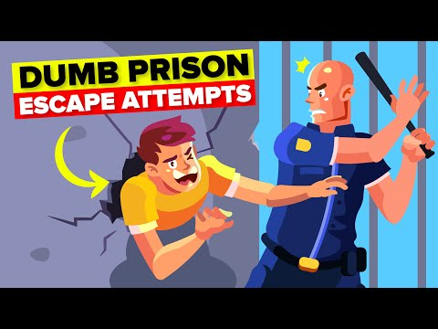 Dumb Prison Escape Attempts