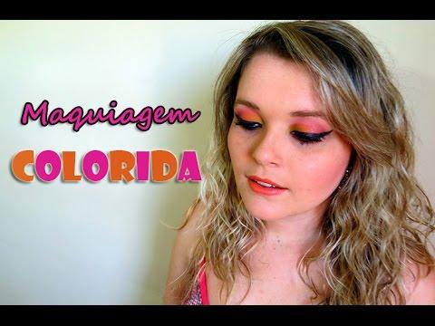 0 Maquiagem Colorida para usar no Verão!