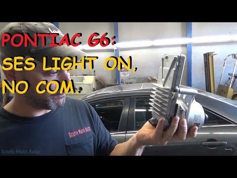 Engine Light On - No Communication W/ Scan Tool