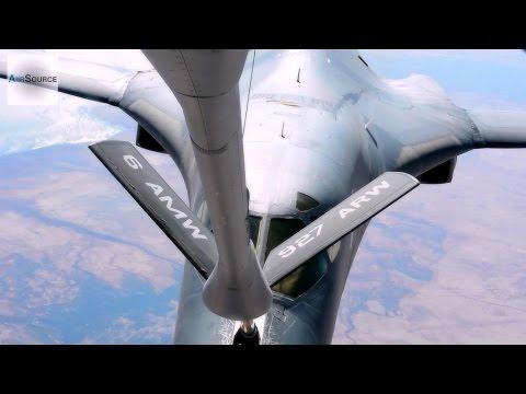 A U.S. Air Force KC-135 Stratotanker...