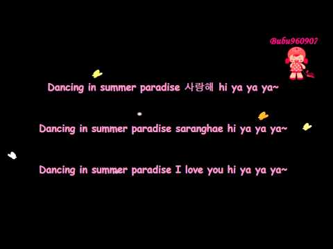 [Lyrics] TVXQ!   DBSK (동방신기) – Hi Ya Ya Summer Day (Hi Ya Ya 여름날) {Han/Rom/Eng}