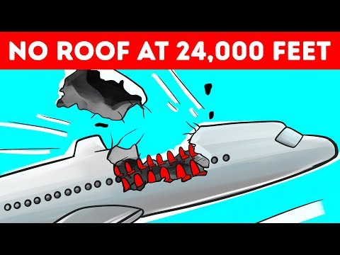 A Plane Lost Its Roof at 24,000 Feet But Managed to Land