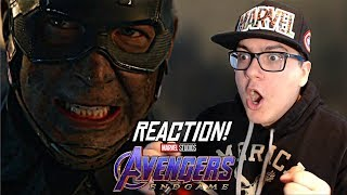 Avengers: Endgame - Official Trailer 2 REACTION!