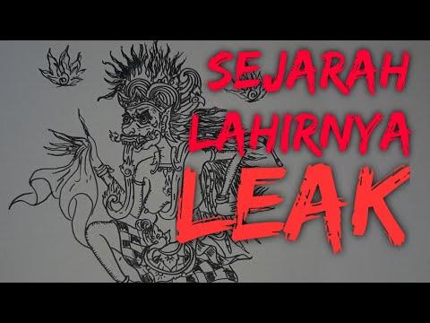 SEJARAH LEAK - Wayang Bali - Cerita Bergambar
